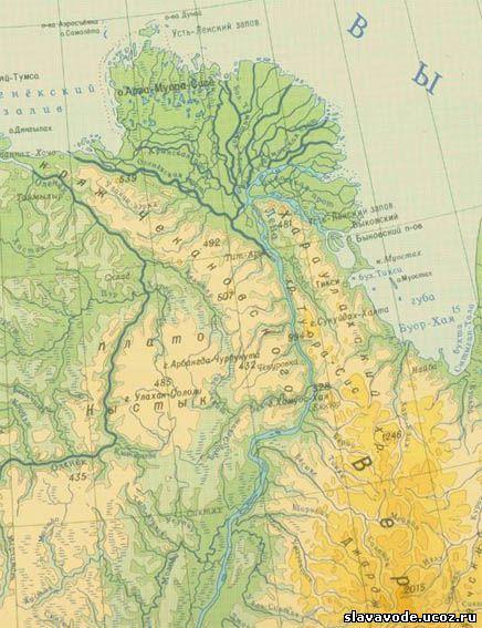Самые крупные реки земли